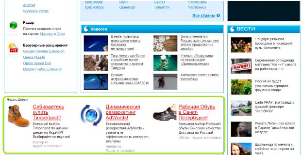 Инструменты контекстной рекламы яндексе